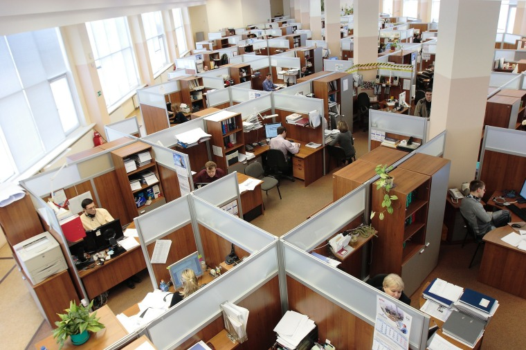 cubicles office disability leave