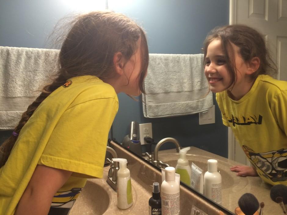 Mirror Smile confidence self image