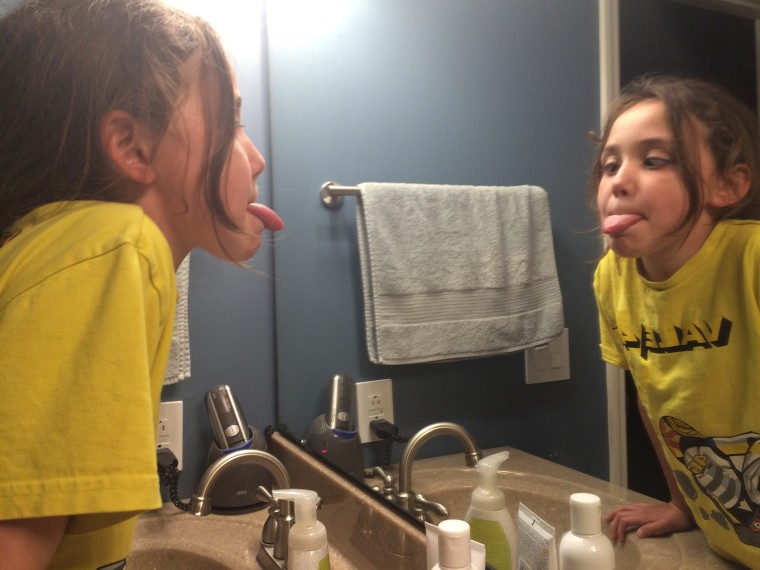 Silly Mirror self image confindence