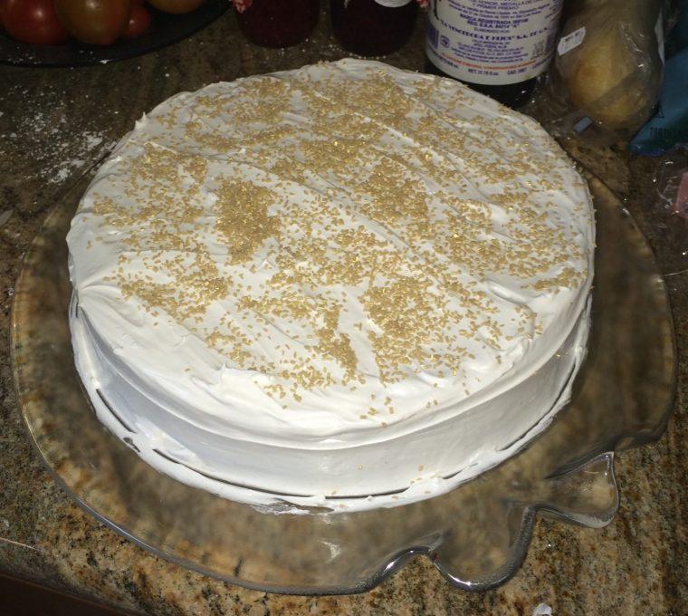 black cake fruit cake