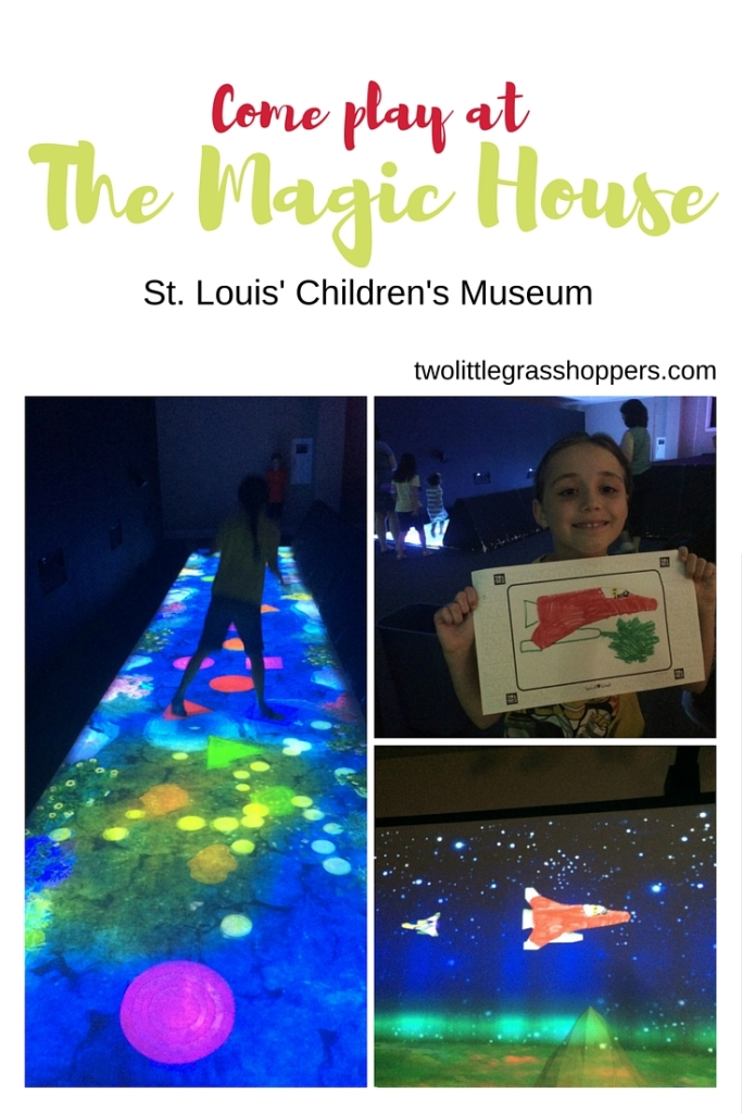 The Magic House in St. Louis is the perfect place to play in the summer. The Future Play exhibit runs until September 5.