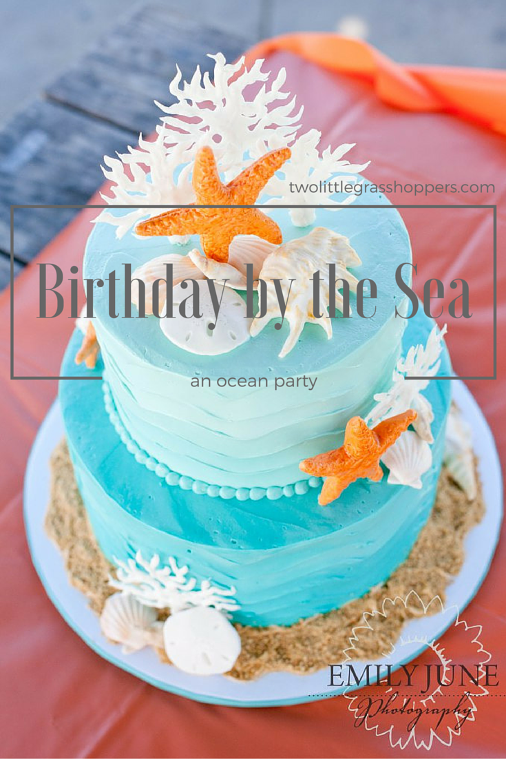 Tremendous Birthday By The Sea An Ocean Party Two Little Grasshoppers Birthday Cards Printable Trancafe Filternl