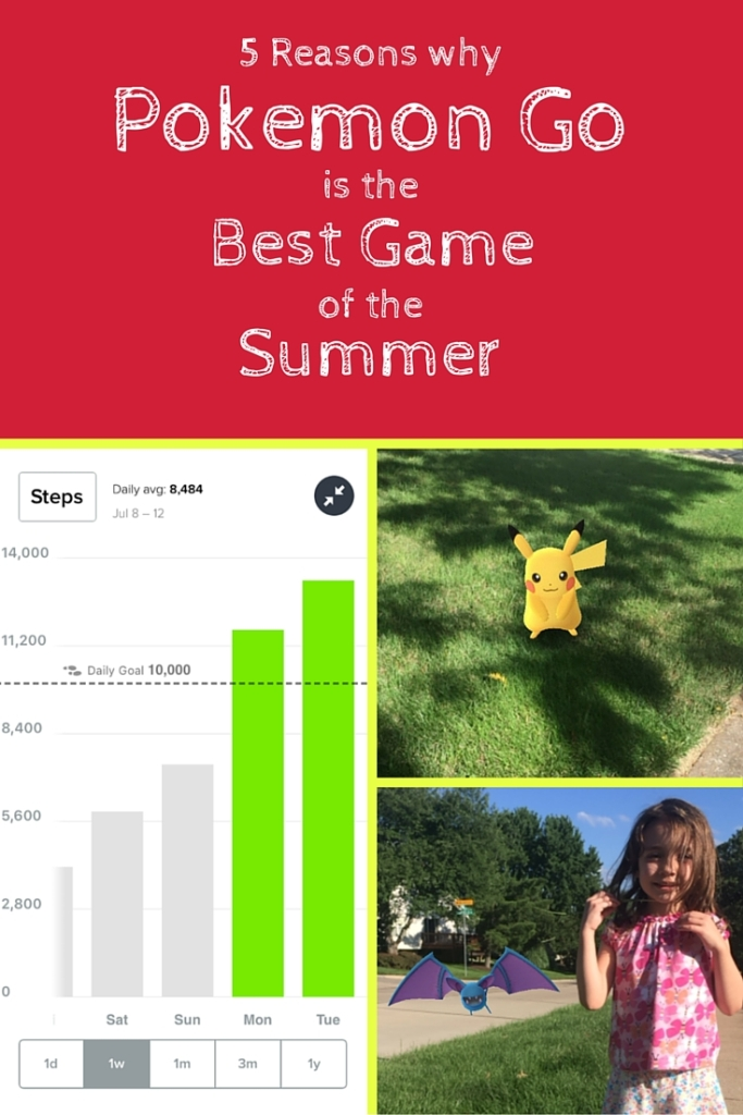 5 reasons why Pokemon Go is the best game of the summer