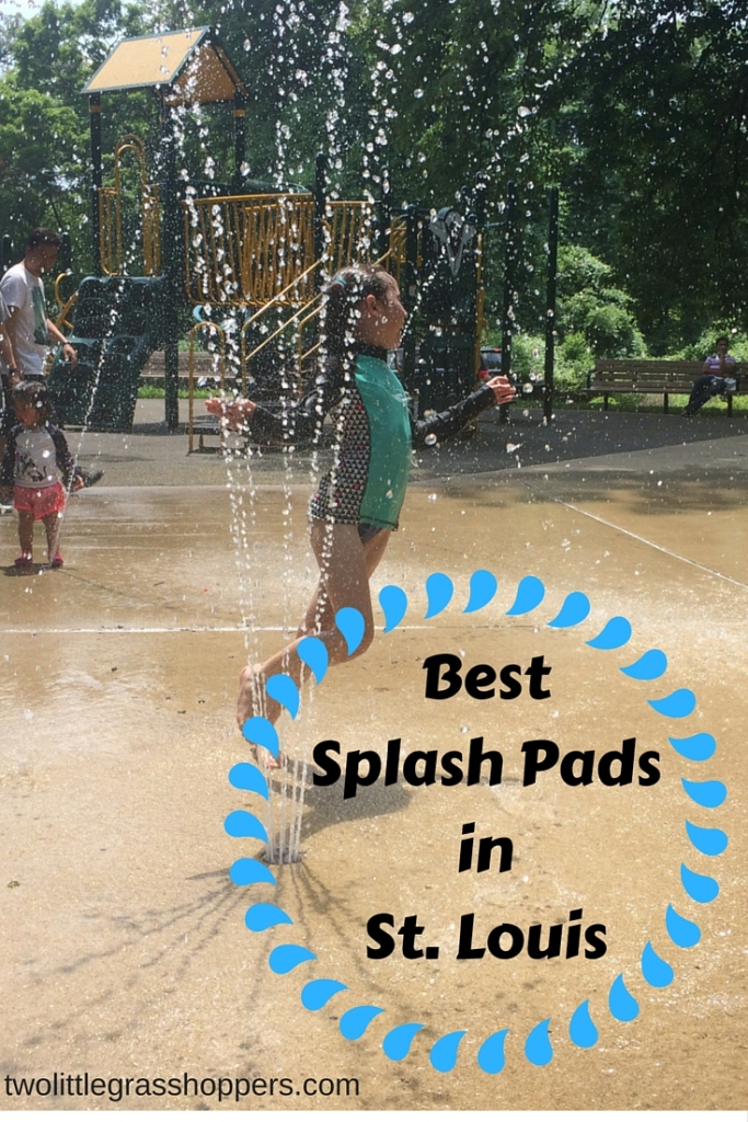 Our 5 favorite splash pads in the St. Louis area!