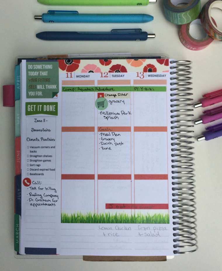 I've made the switch back to a paper planner and my life is so much better!