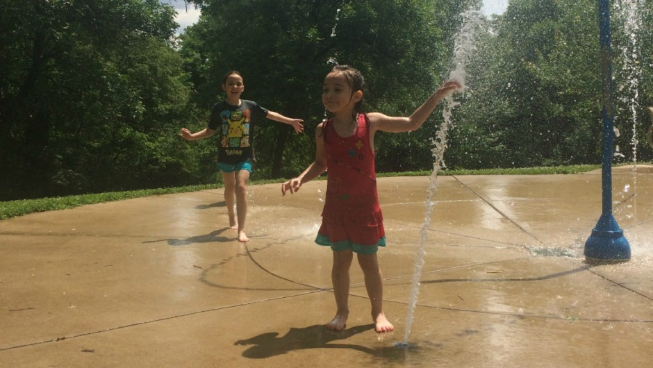 Our top 5 favorite splash pads in the St. Louis Area