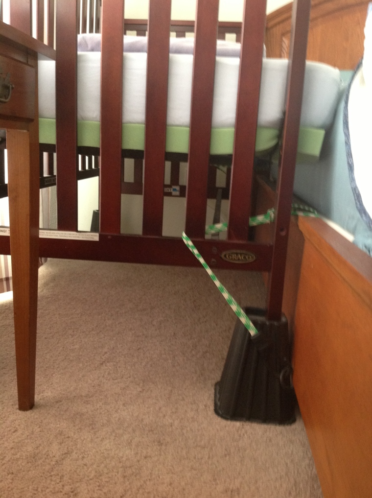 cosleeper risers sidecar crib