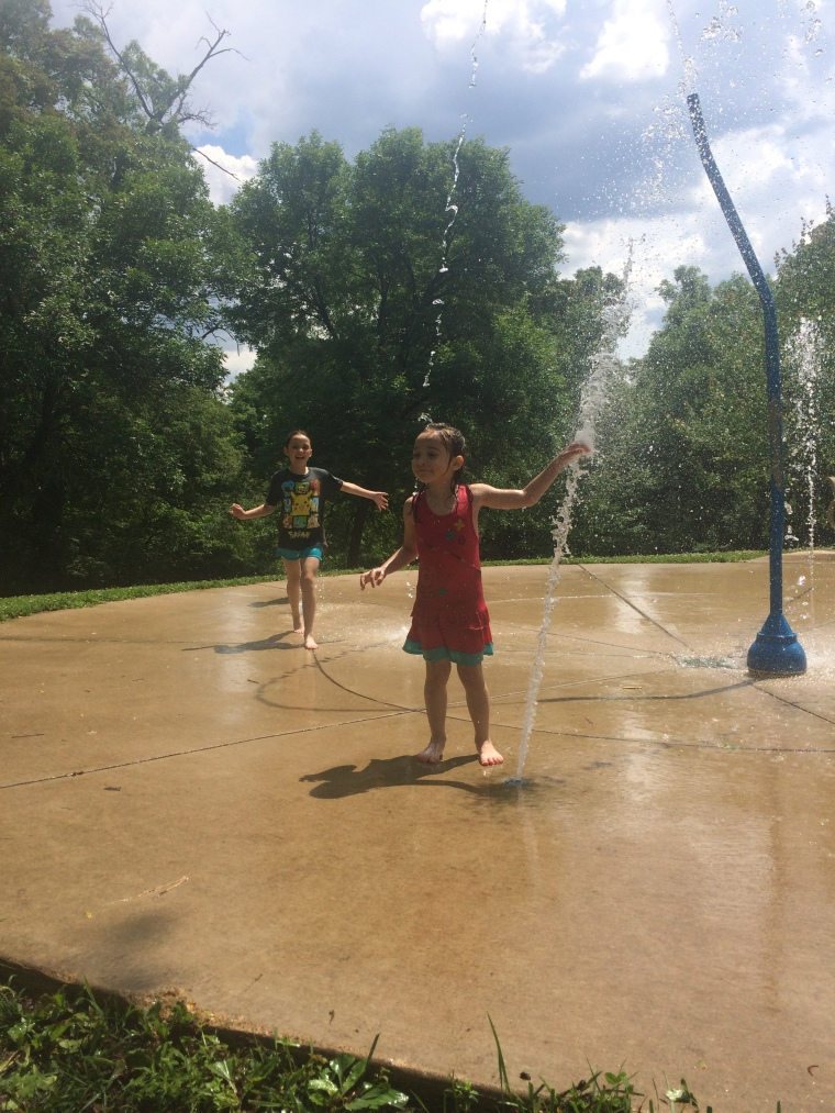 splash pad creve coeur lake go ape